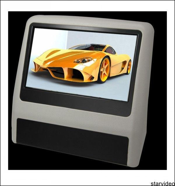 9 inch(16:9) high definition TFT LCD 9 bracket dvd
