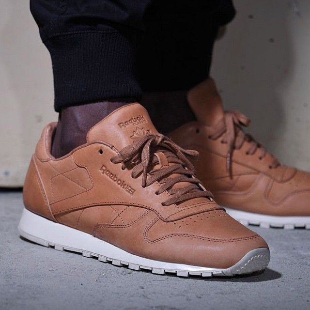 cdc4e07e16d Check out the Horween x Reebok Classic Leather Lux Horween ...