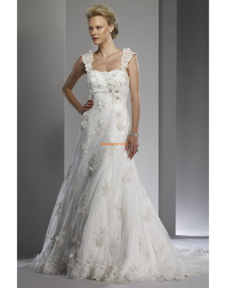 Kostel Délka dvorní Okouzlijící & dramatický Svatební šaty 2014