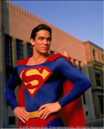 Dean Cain as #superman... I think I need to be rescued!