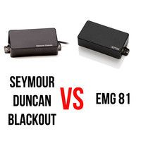 EMG 81 vs Seymour Duncan Blackout AHB-1 - Metal by matisq on SoundCloud