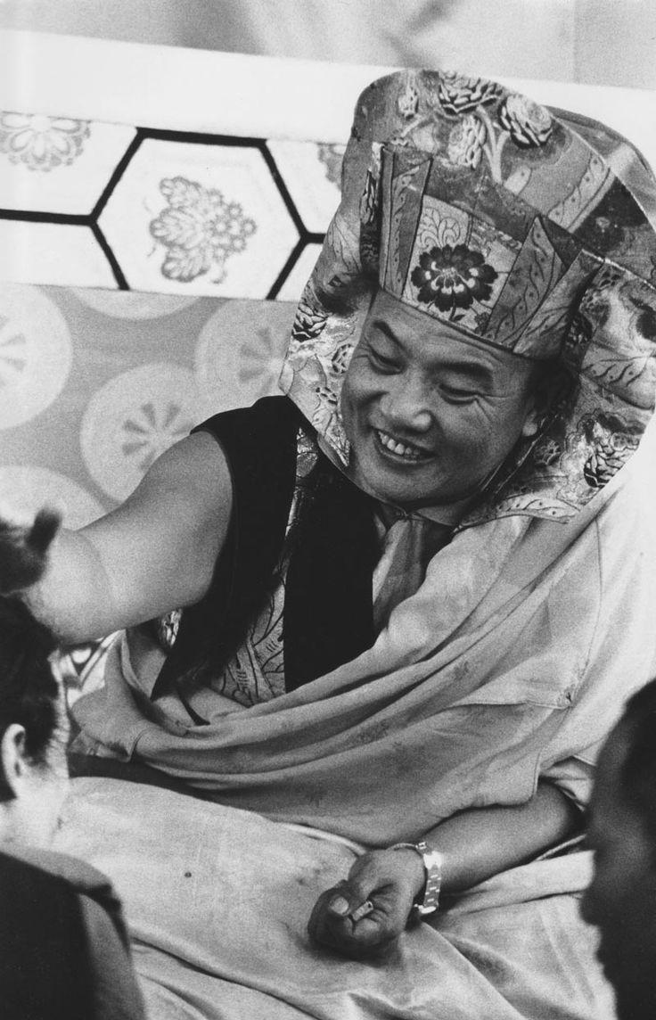 The sixteenth Karmapa, First visit to North America, 1976