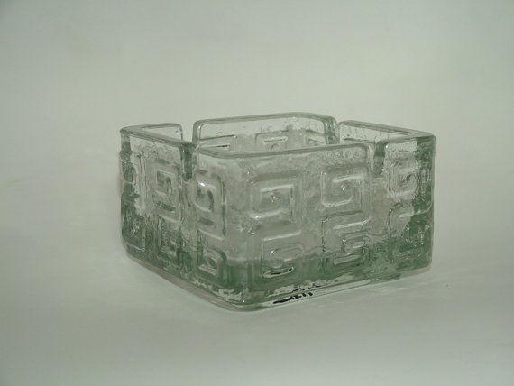 Clear Glas by Helena Tynell, Riihimaen Lasi Oy Riihimaki £25.00