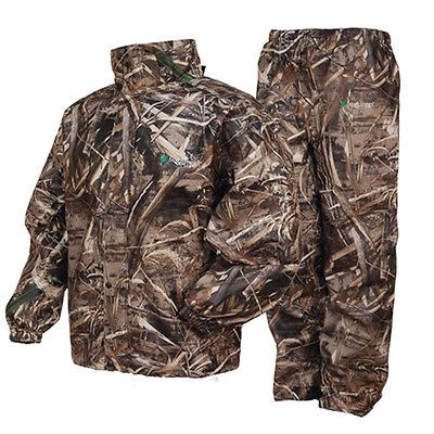 Jacket and Pants Sets 179981: Frogg Toggs As1310-56Md All Sports Camo Suit Max 5 Camo [Medium] (As131056md) -> BUY IT NOW ONLY: $59.95 on eBay!