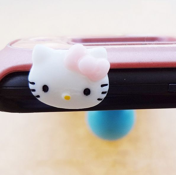 Tappo antipolvere hello_kitty per jack cuffie auricolari 3.5mm samsung iphone lg