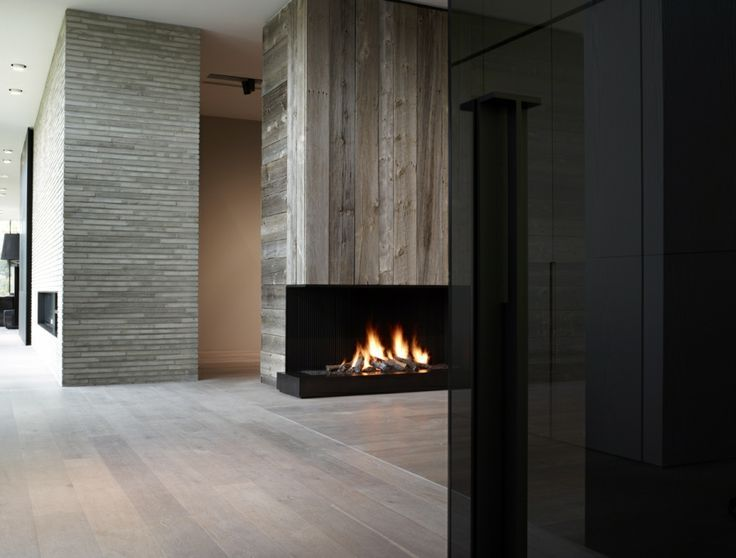 mountain contemporary fireplaces | Modern Fireplaces