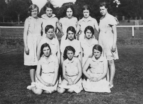 Toowoomba netball team, 1932