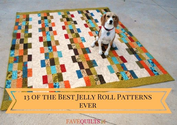 13 of the Best Jelly Roll Patterns Ever