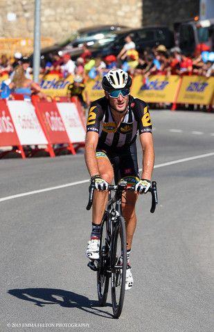 Steve Cummings - Stage 6 La Vuelta, 2015
