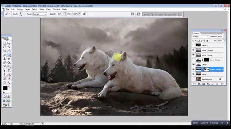 Guardians of Nature Photomanipulation SpeedArt