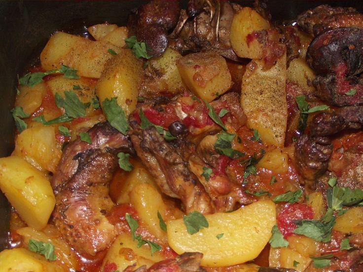 Reteta Tocanita de cartofi cu pui - Mancaruri de legume