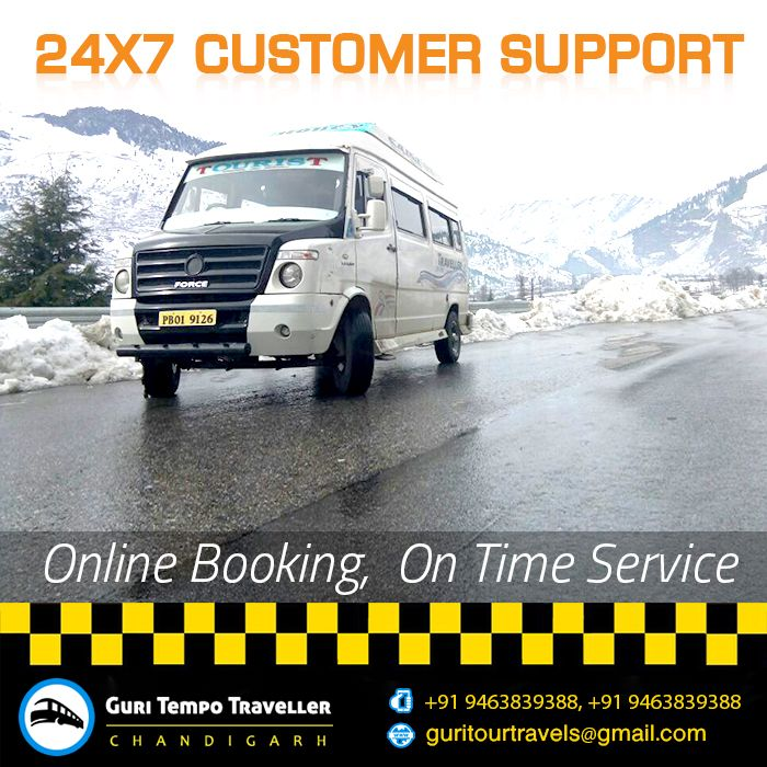Online Booking On Time Service  #Traveller #Tour #Tempotraveller #Travelling #Chandigarh