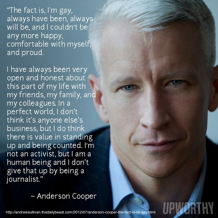 Go ANDERSON!: Gorgeous Men, Love You, Silver Foxes Love Love Lov, Cooper In, Morals Men, Anderson Cooper I, French Words, Anderson Cooper H