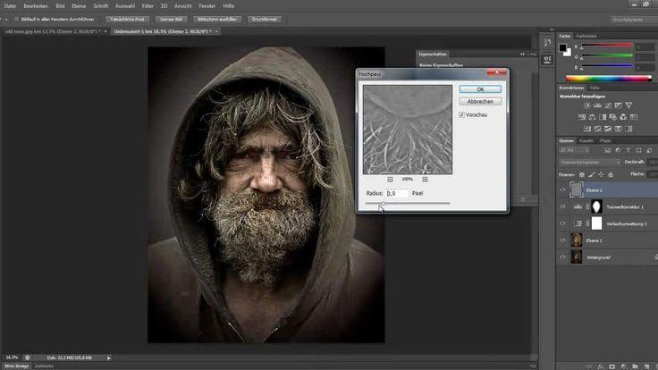 Urban Effect Photoshop Tutorial Deutsch. Bildbearbeitung ...