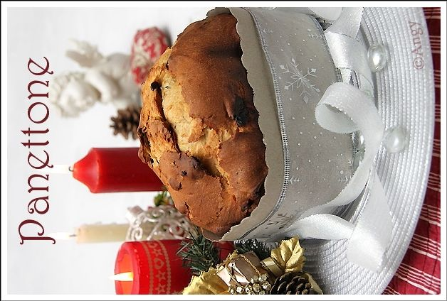 panettone avec poolish en machine à pain