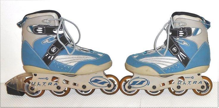 Ultra Wheels ABEC 3 Women's Rollerblades Inline Skates US 10  Priority Ship! #UltraWheelsABEC3