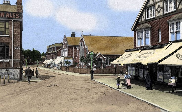Undated picture of Rusthall High Street.