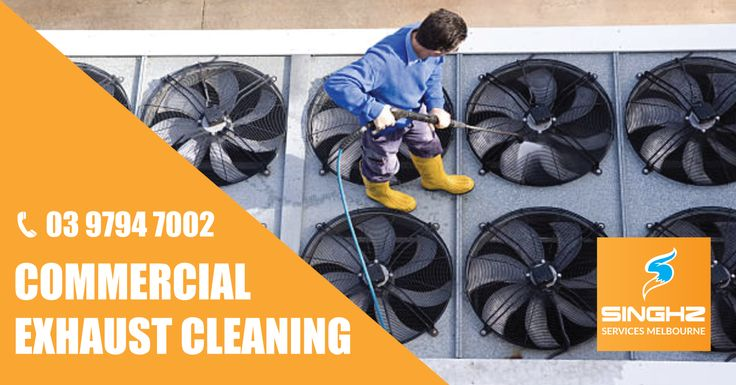 Kitchen Exhaust And Duct Cleaning Melbourne. We clean your kitchen exhaust and duct system from head to toe. Our canopy fan cleaning services in Melbourne include exhaust canopies, exhaust fans, ducts and filters cleaning in your commercial kitchen. #ExhaustCleaning #DuctCleaning