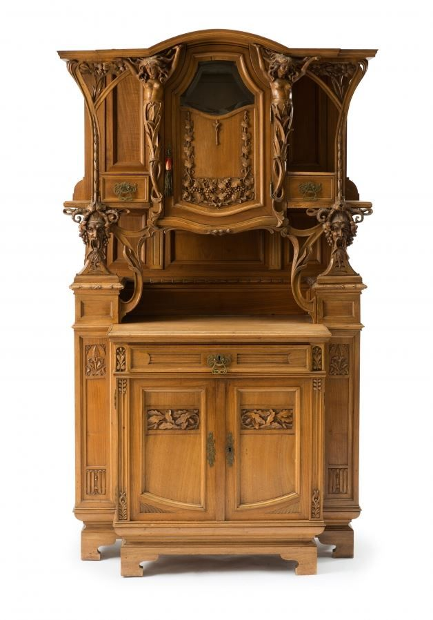 France. Cabinet with attachment, c1900. Fabulous!