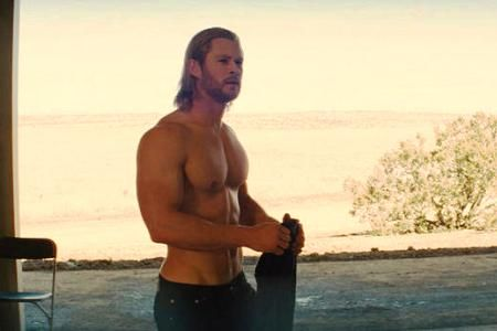 Chris Hemsworth is Thor!   Interview.  I could listen to him all day...even if he was just reading the phone book.