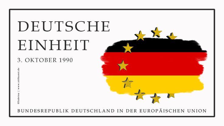 3. Oktober 1990 | Tag der Deutschen Einheit | Nationalfeiertag | Grafik: Entwurf zum Thema »Die Bundesrepublik Deutschland ist Mitglied in der Europäischen Gemeinschaft« | © Sabrina | Reiner | www.stilkunst.de | Geschütztes Bildmaterial