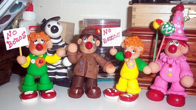 My clowns!