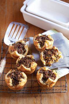Vinnige maalvleis-pasteie | SARIE | Quick mince pies