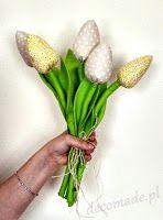 PrzydaSie: Tulipany z tkaniny bawełnianej: Sztuczki i triki