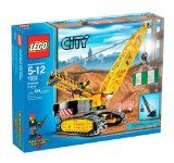 The Lego City Crawler Crane comes with a house section, barrier and 2 mini-figures. The crane has authentic construction vehicle details inc...