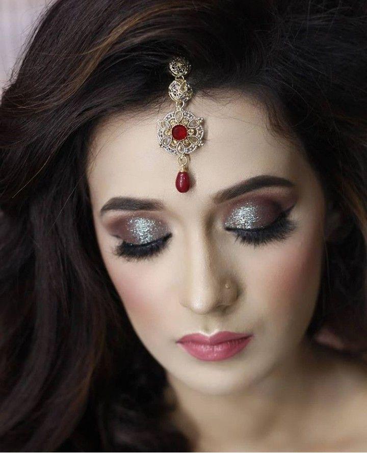 Pin By Zarnab Anwar On Brides Pakistani Bridal Makeup Eye