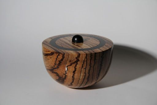 zebrano wood and ebony - Richard Coter