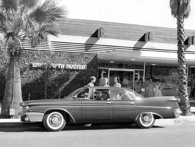 Shopping at saks fifth avenue photograph courtesy palm for Desert motor palm desert ca