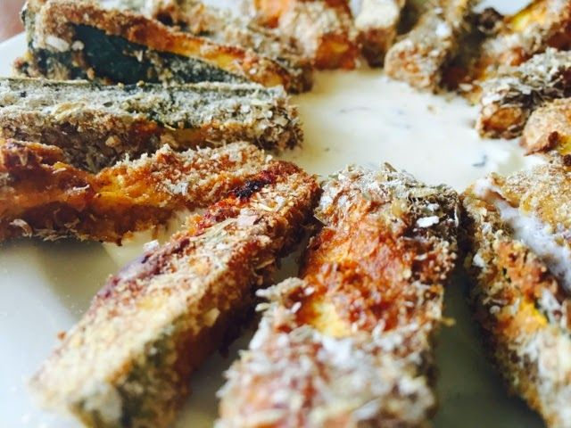 zucchini fries ! tasty and healthy. vegetarian recipe. wegetariańskie frytki z cukinii - przepis.