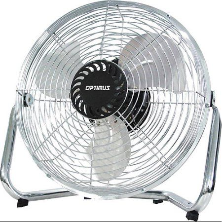 Optimus 18 inch Industrial Grade High Velocity Fan, Silver