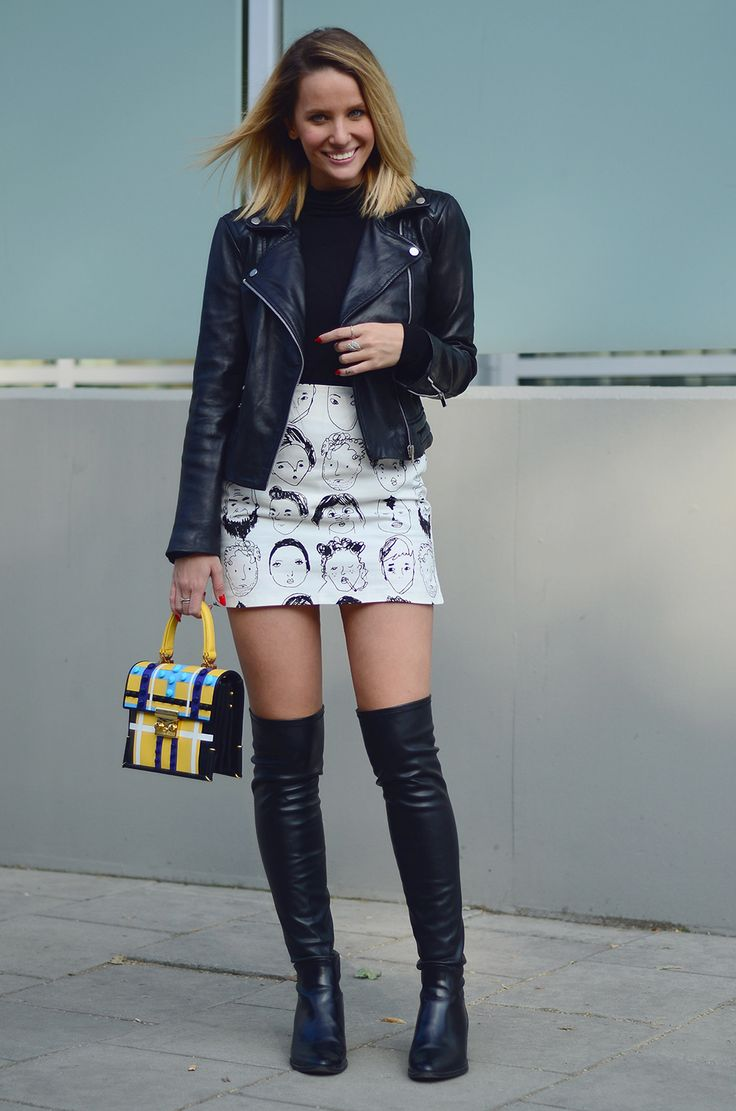 Leather jackets and boots