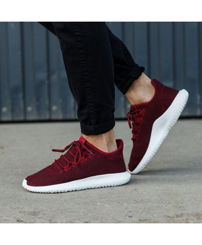 e02a6aa0cb0b Adidas Tubular Shadow Burgundy Shoes