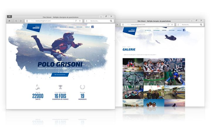 creation webdesign polo grisoni