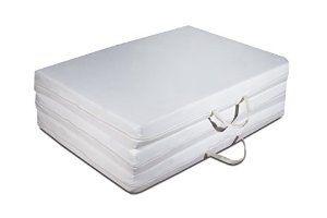 Futon EASY colchón, plegable, ahorro de espacio, plaza individual 80x200 cm