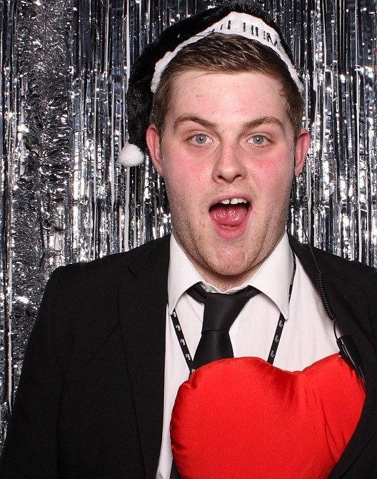 Edinburgh Christmas Party Part - 50: Blushbooth Fun #DynamicEarth #Christmas #Party #Edinburgh #Photobooth