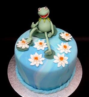 Kermit cake
