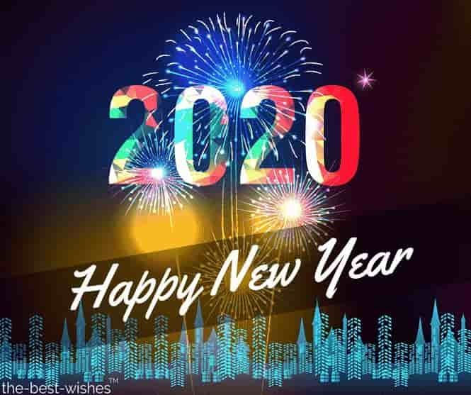 Happy New Year 2020 Wishes Quotes Messages