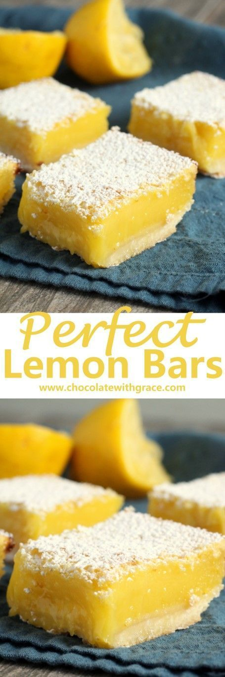 Smooth, tangy lemon filling baked on a shortbread crust and dusted with powdered…