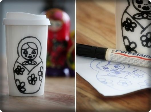 DIY   Kaffee Porzellan Kreativ Verzieren. GeschirrKaffeePorzellan KuchenDekorationCakeCakesDecoration