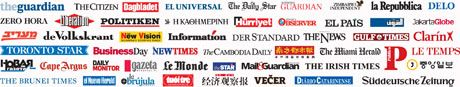 In 2009, an unprecedented 56 newspapers from around the world, in 20 languages, called for world leaders to take action on climate change.