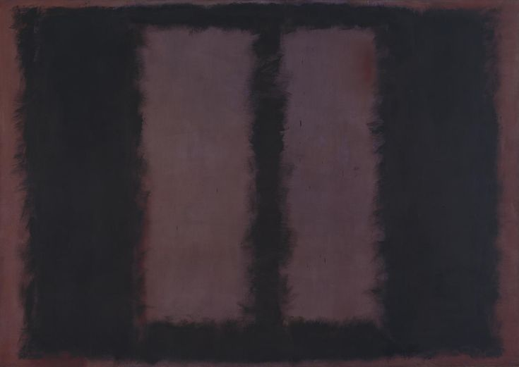 'Black on Maroon', Mark Rothko | Tate