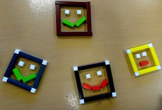 pinkmathematics: Patterns in squares in Year 4 - using Cuisenaire rods