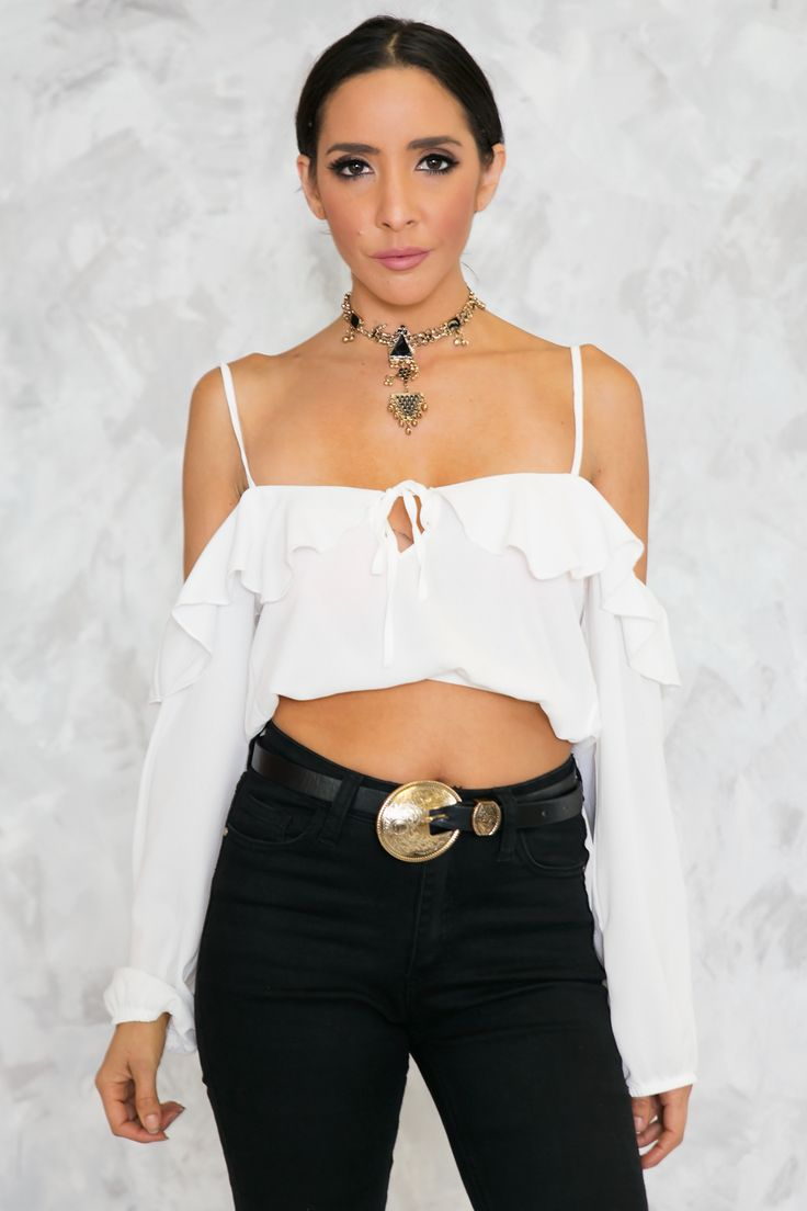 Mexican Standoff Ruffle Top