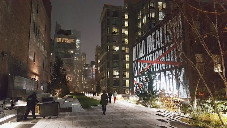 USA, Nowy Jork, High Line