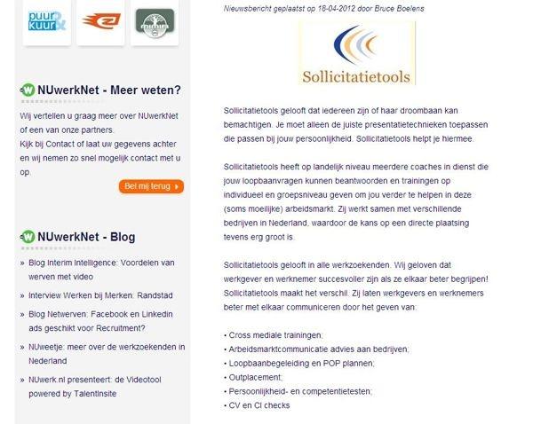 Sollicitatietools by Annemarie Keemers, via Behance