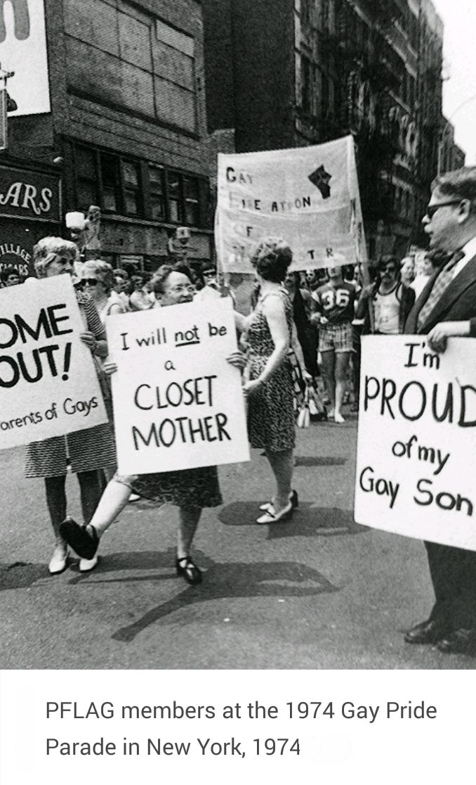 PFLAG (Parents, Friends, and Family of Lesbians and Gays)